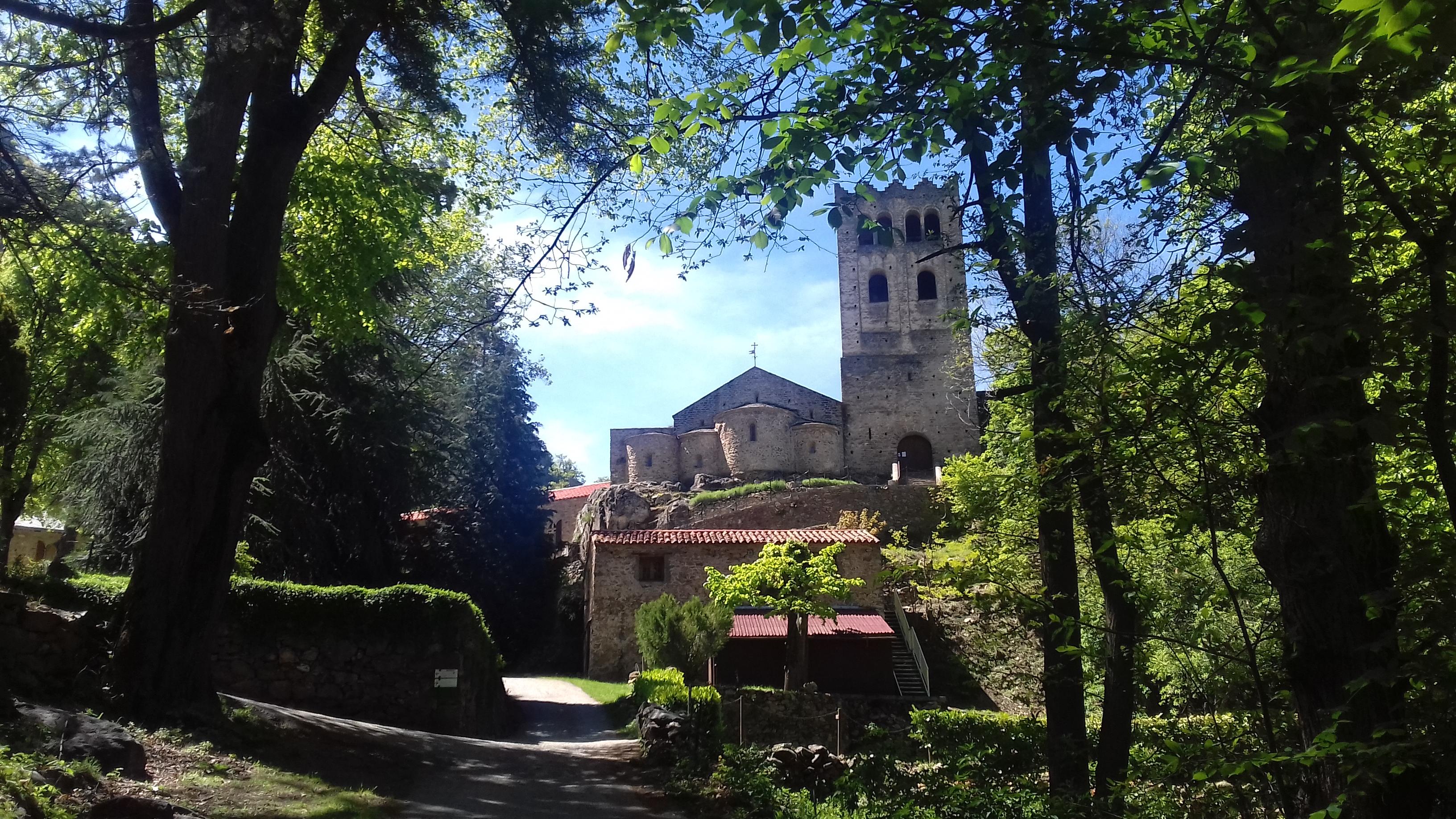 Parc de l'Abbaye de Saint Martin du Canigou