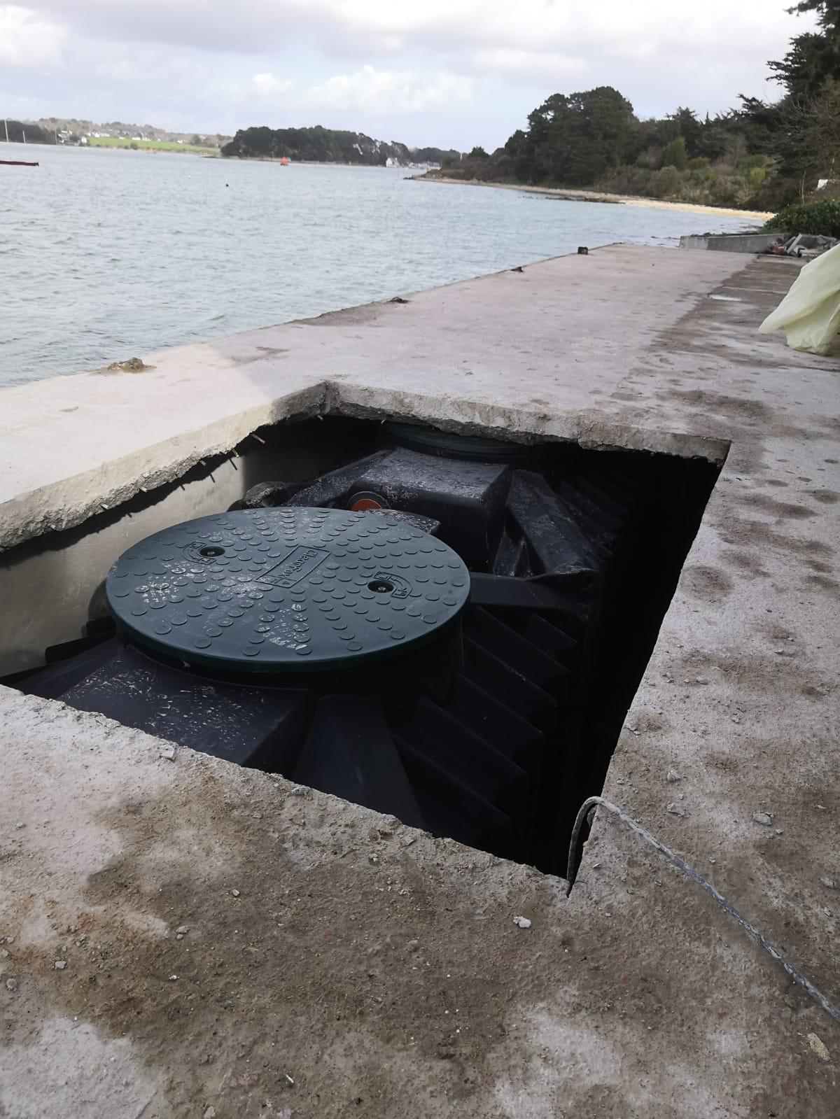 Installation sur l'Ile de Groix
